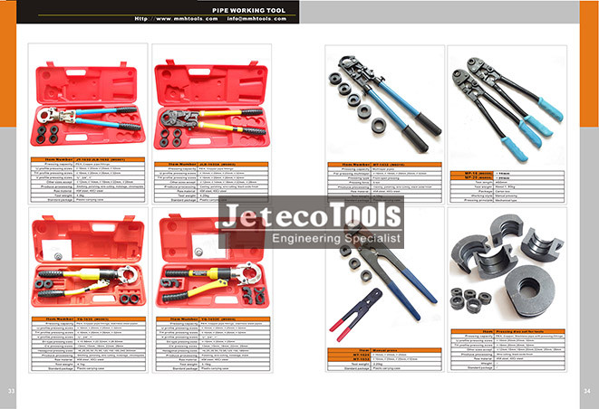 Pipe crimping tools