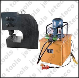 Channel steel hole punch machine