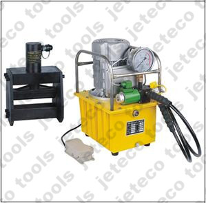 Electric hydraulic pump operated bender