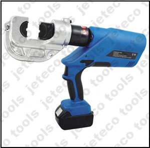New EZ-400 battery hydraulic crimping tool